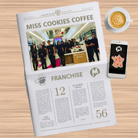 Miss Cookies Coffee shop franchise actualité